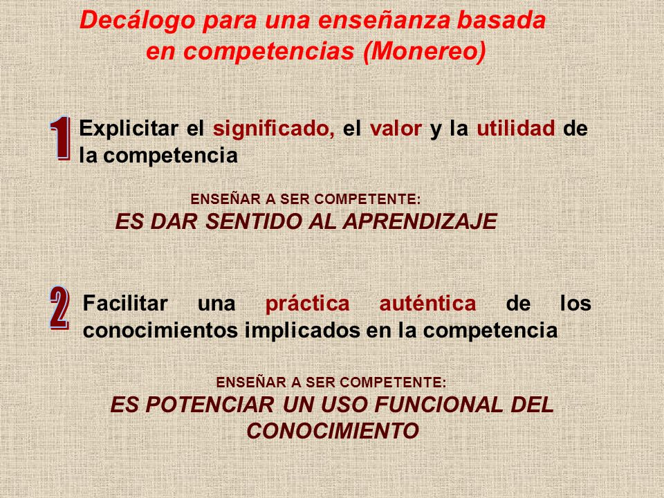 1 2 Decálogo para una enseñanza basada en competencias (Monereo)