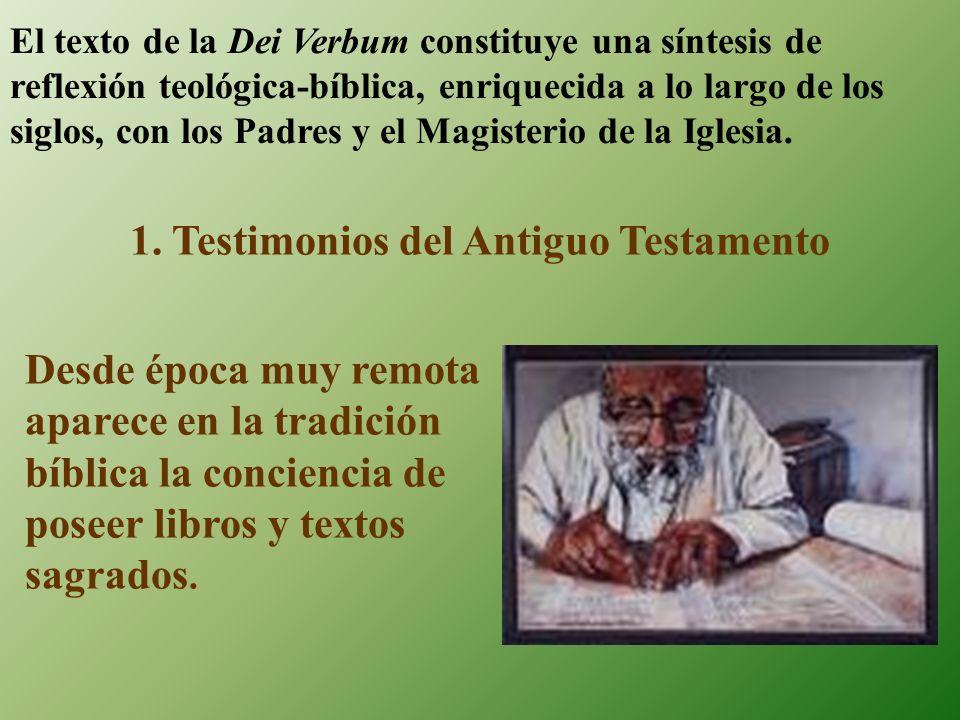 1. Testimonios del Antiguo Testamento
