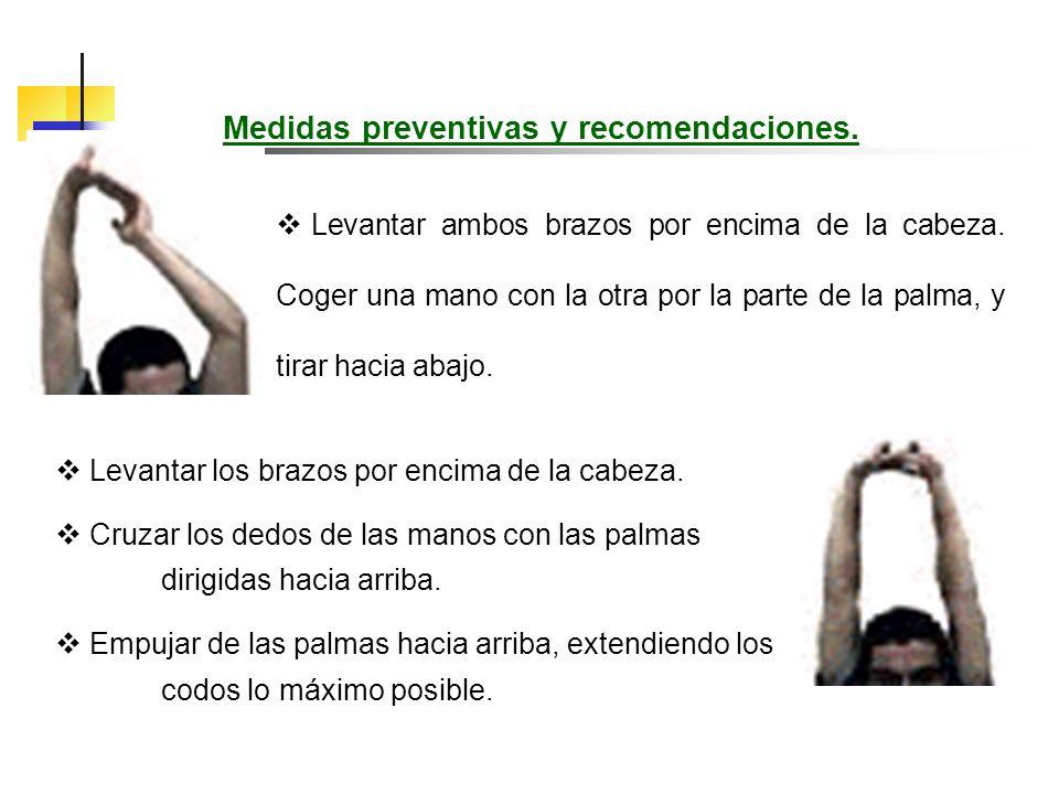 Medidas preventivas y recomendaciones.