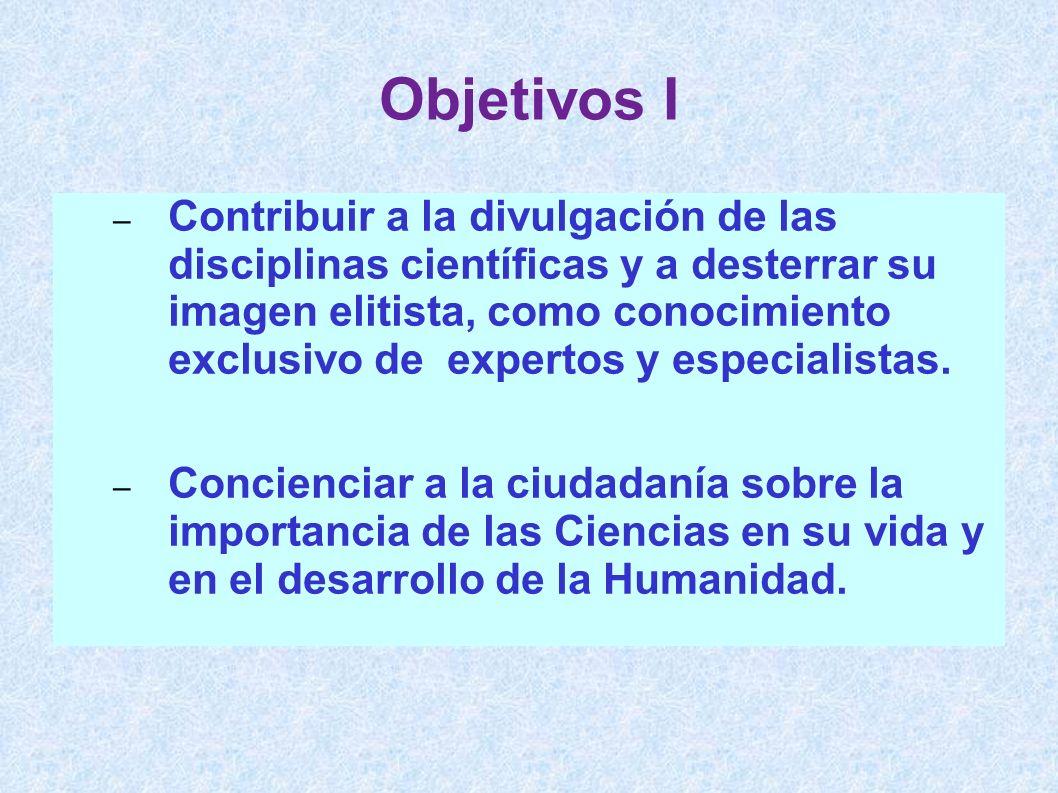 Objetivos I