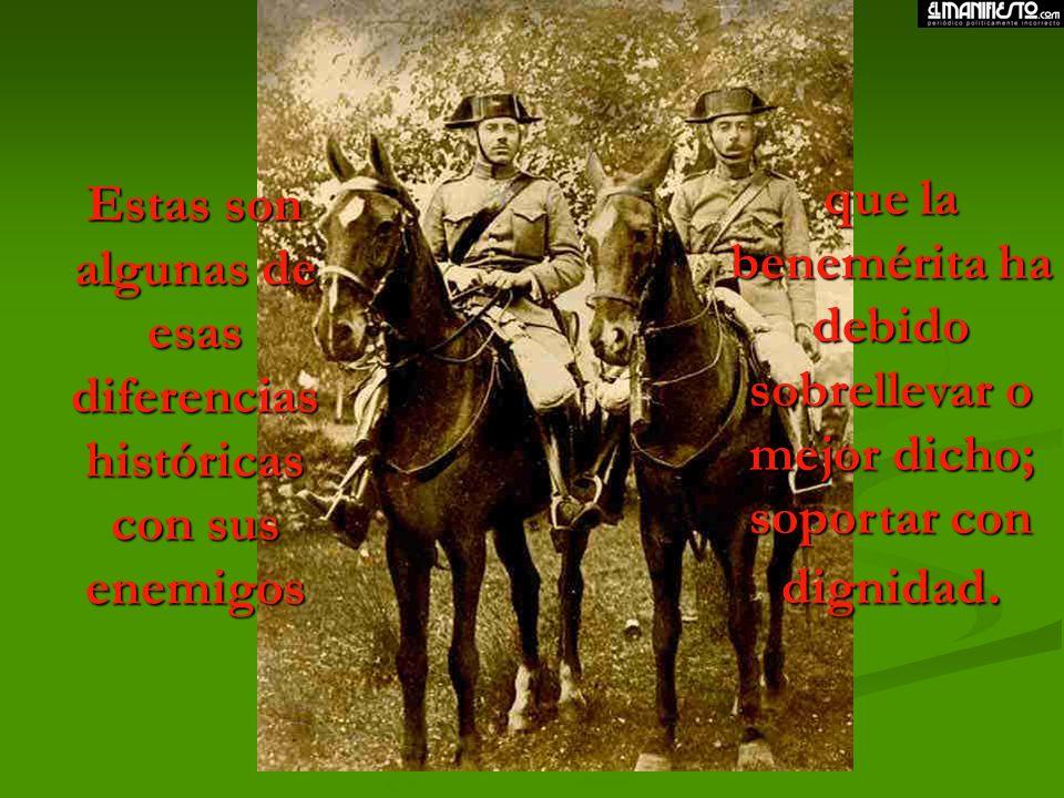 Estas son algunas de esas diferencias históricas con sus enemigos