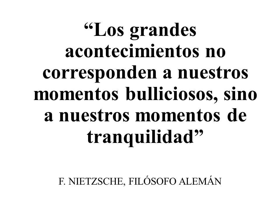 F. NIETZSCHE, FILÓSOFO ALEMÁN