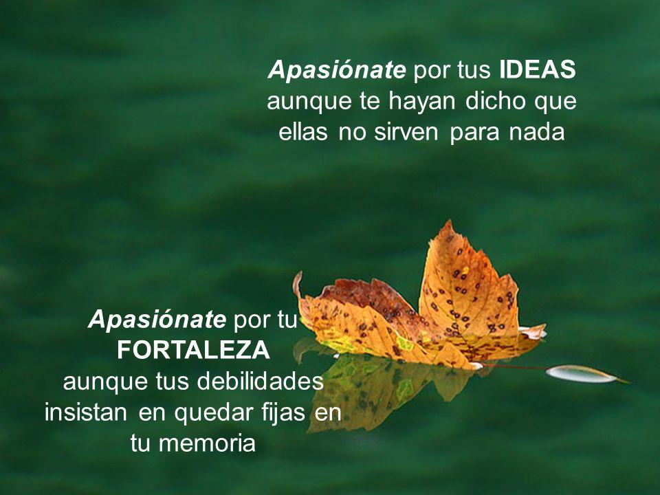 Apasiónate por tus IDEAS
