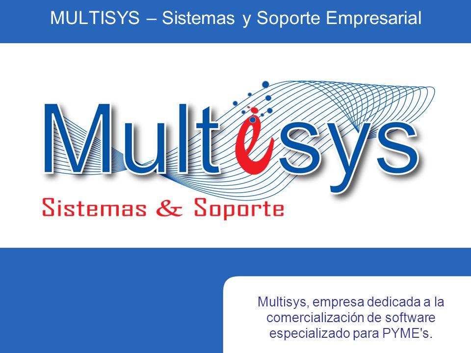 MULTISYS – Sistemas y Soporte Empresarial