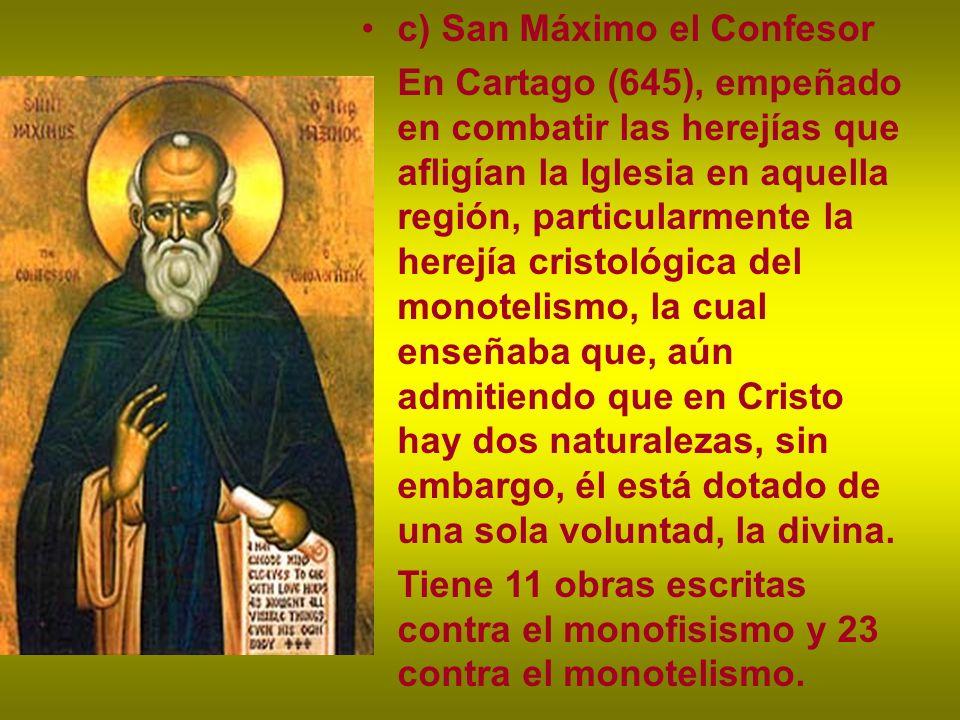 c) San Máximo el Confesor