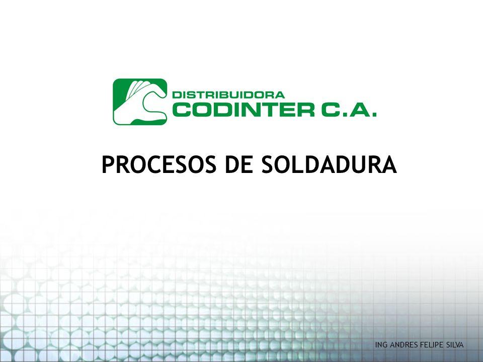 PROCESOS DE SOLDADURA ING ANDRES FELIPE SILVA