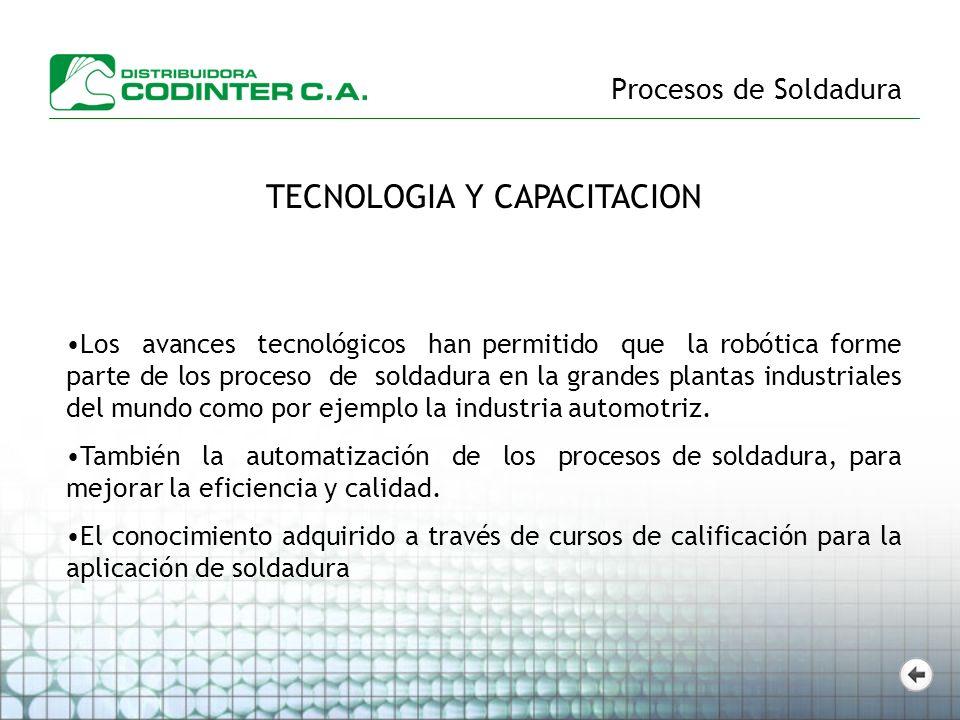 TECNOLOGIA Y CAPACITACION