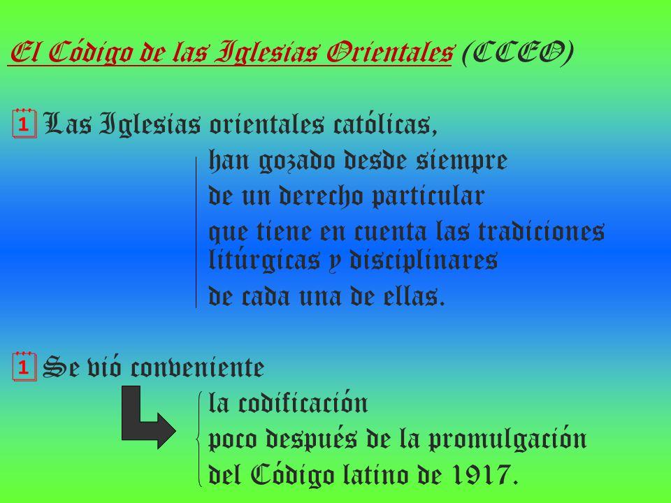El Código de las Iglesias Orientales (CCEO)