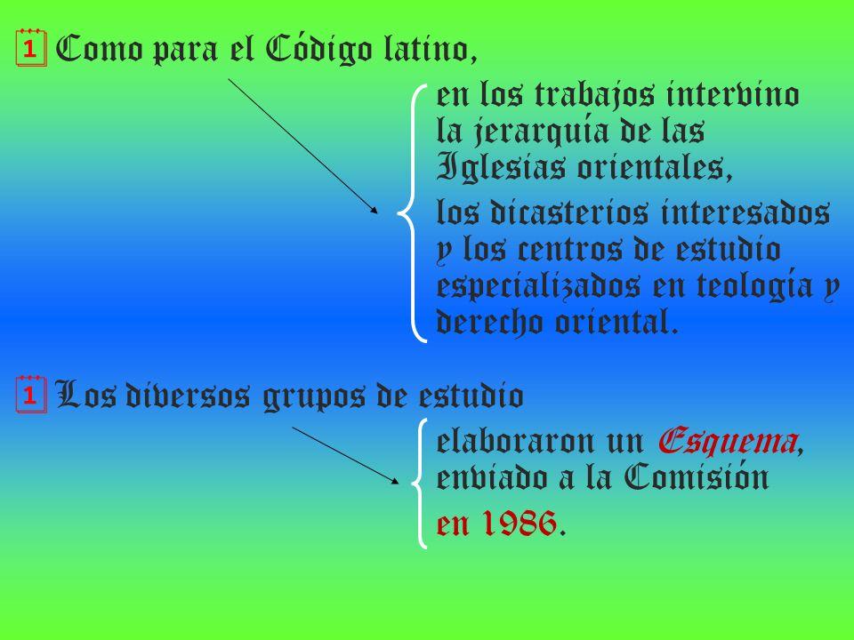 Como para el Código latino,