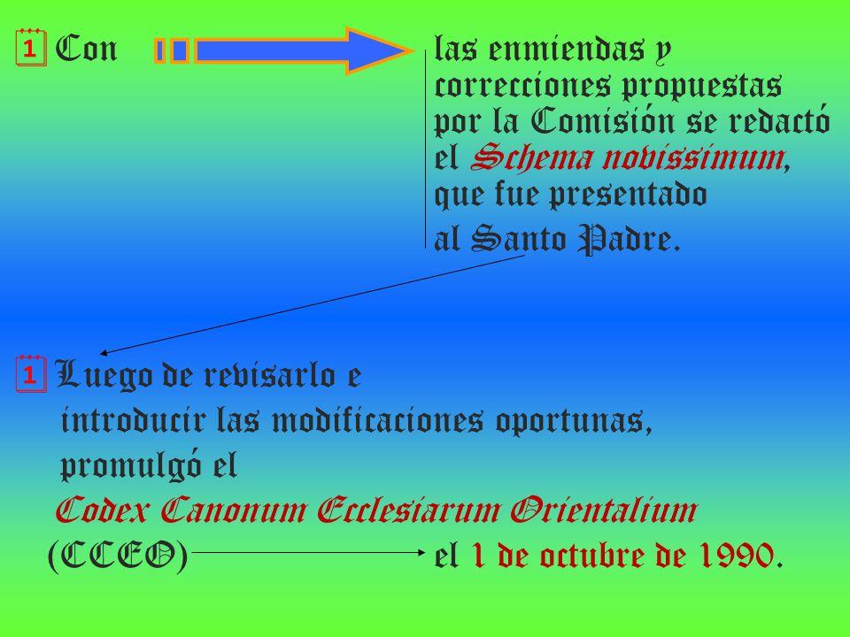 Con. las enmiendas y. correcciones propuestas
