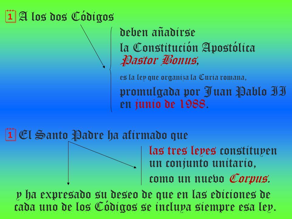 la Constitución Apostólica Pastor Bonus,
