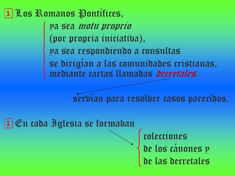Los Romanos Pontífices,