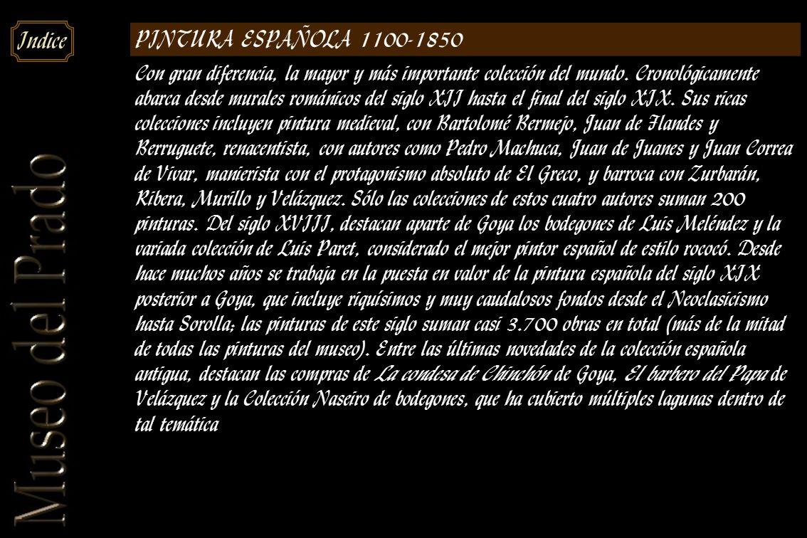 PINTURA ESPAÑOLA 1100-1850