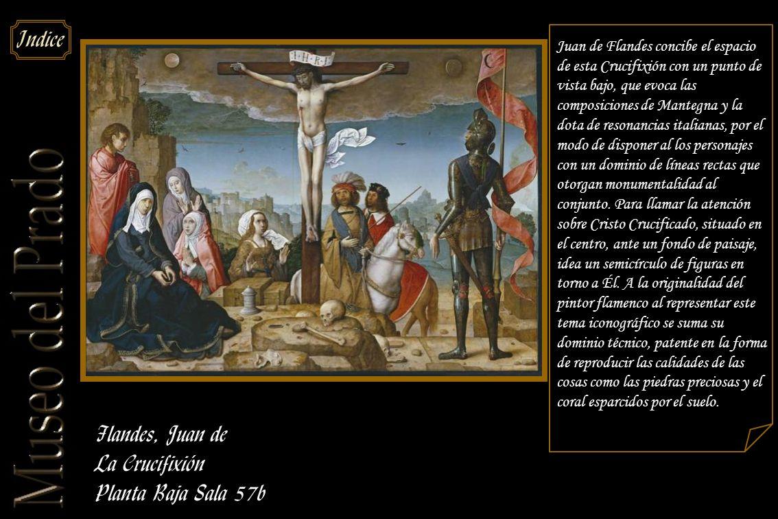 Flandes, Juan de La Crucifixión Planta Baja Sala 57b