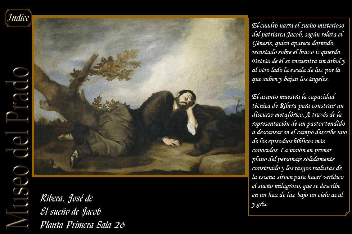 Ribera, José de El sueño de Jacob Planta Primera Sala 26