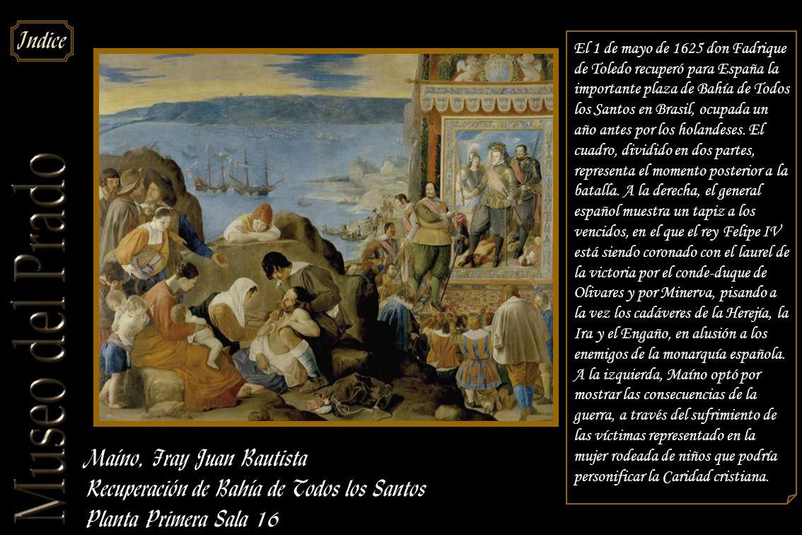 Maíno, Fray Juan Bautista Recuperación de Bahía de Todos los Santos