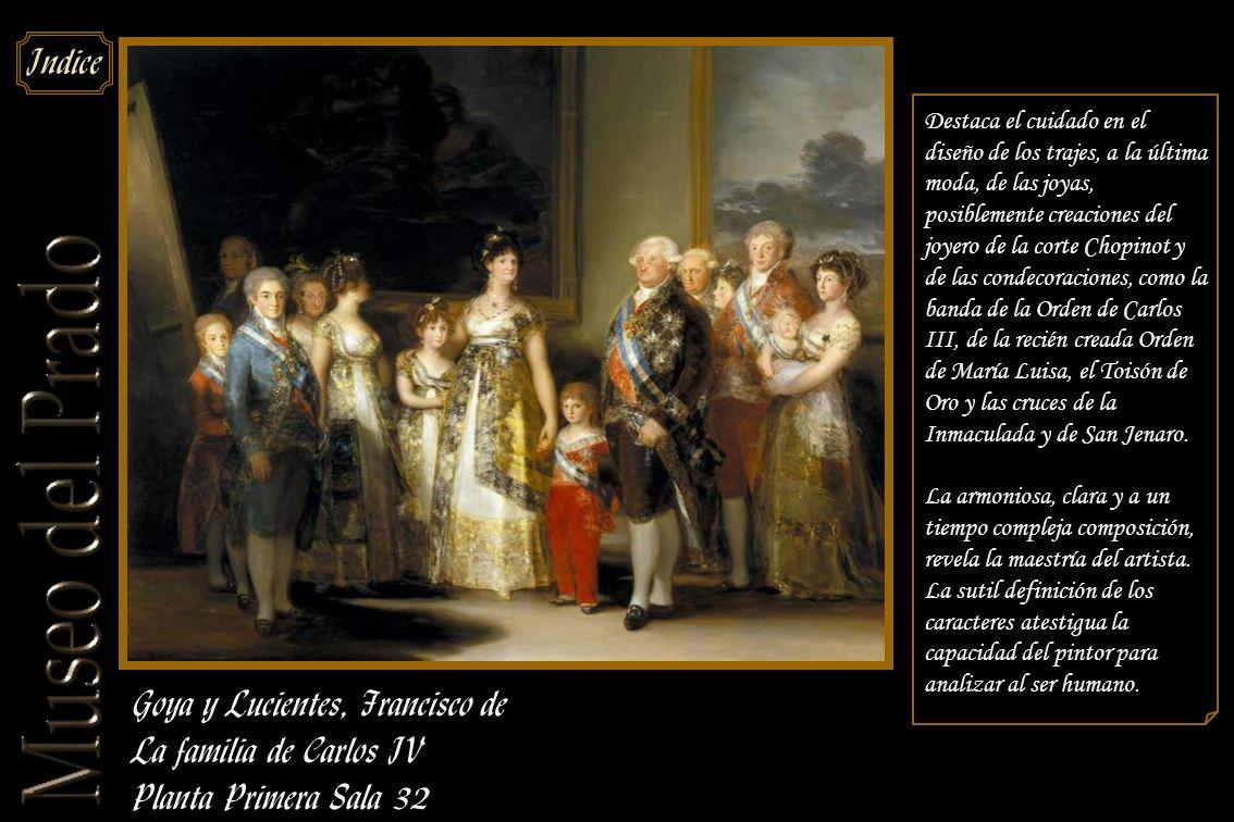 Goya y Lucientes, Francisco de La familia de Carlos IV