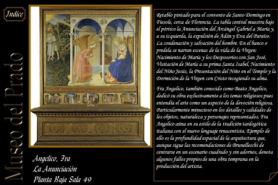 Angelico, Fra La Anunciación Planta Baja Sala 49