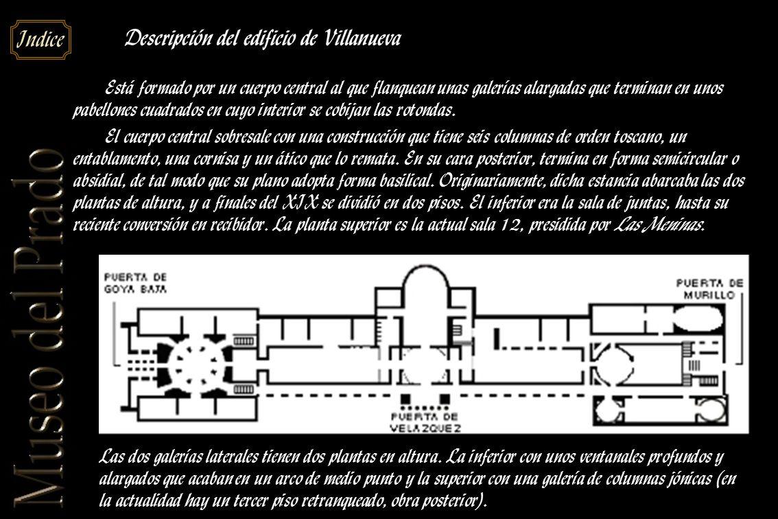 Descripción del edificio de Villanueva