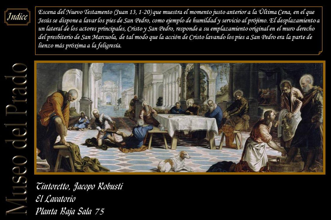 Tintoretto, Jacopo Robusti El Lavatorio Planta Baja Sala 75