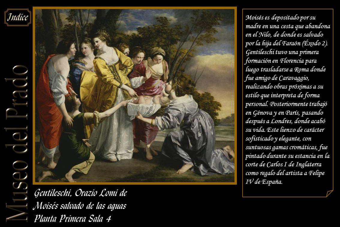 Gentileschi, Orazio Lomi de Moisés salvado de las aguas