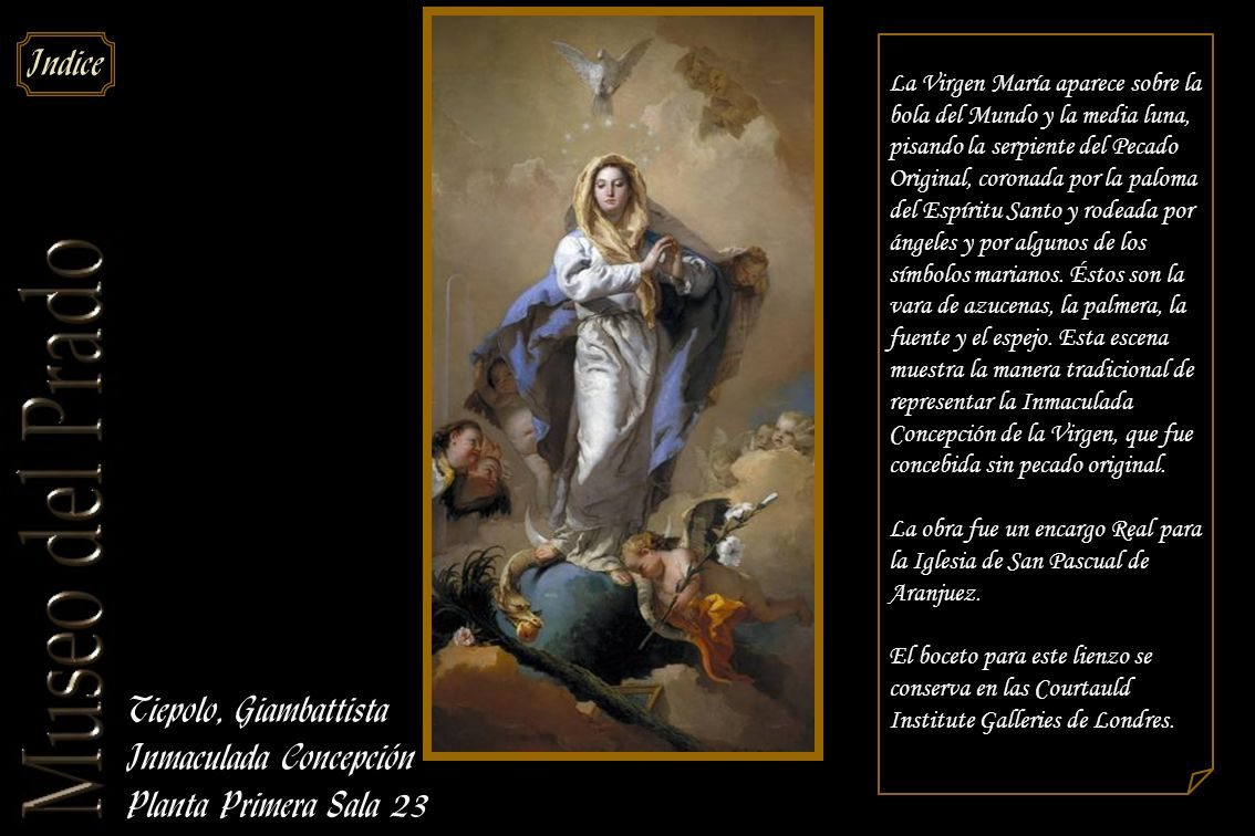 Inmaculada Concepción Planta Primera Sala 23