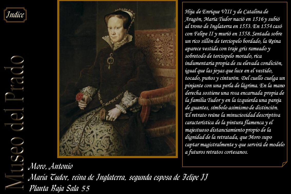 María Tudor, reina de Inglaterra, segunda esposa de Felipe II