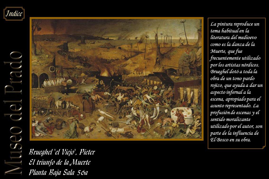 Brueghel el Viejo , Pieter El triunfo de la Muerte