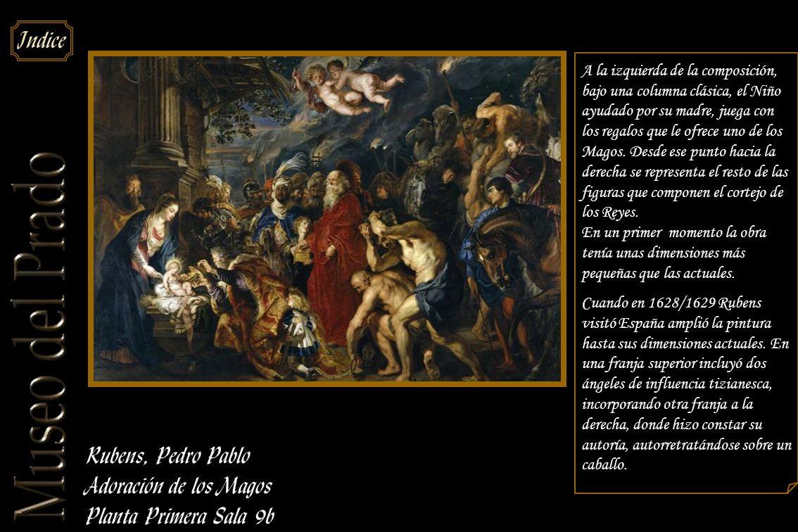 Rubens, Pedro Pablo Adoración de los Magos Planta Primera Sala 9b