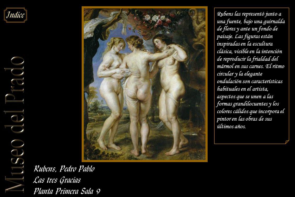 Rubens, Pedro Pablo Las tres Gracias Planta Primera Sala 9