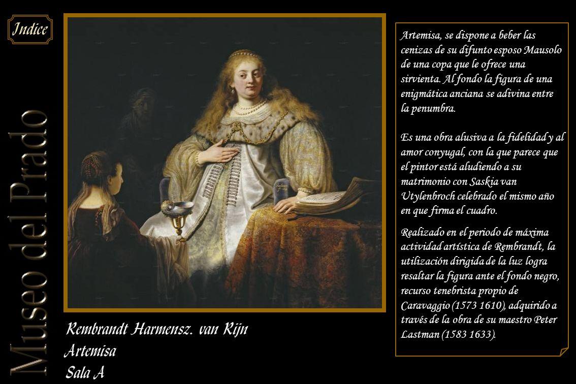 Rembrandt Harmensz. van Rijn Artemisa Sala A