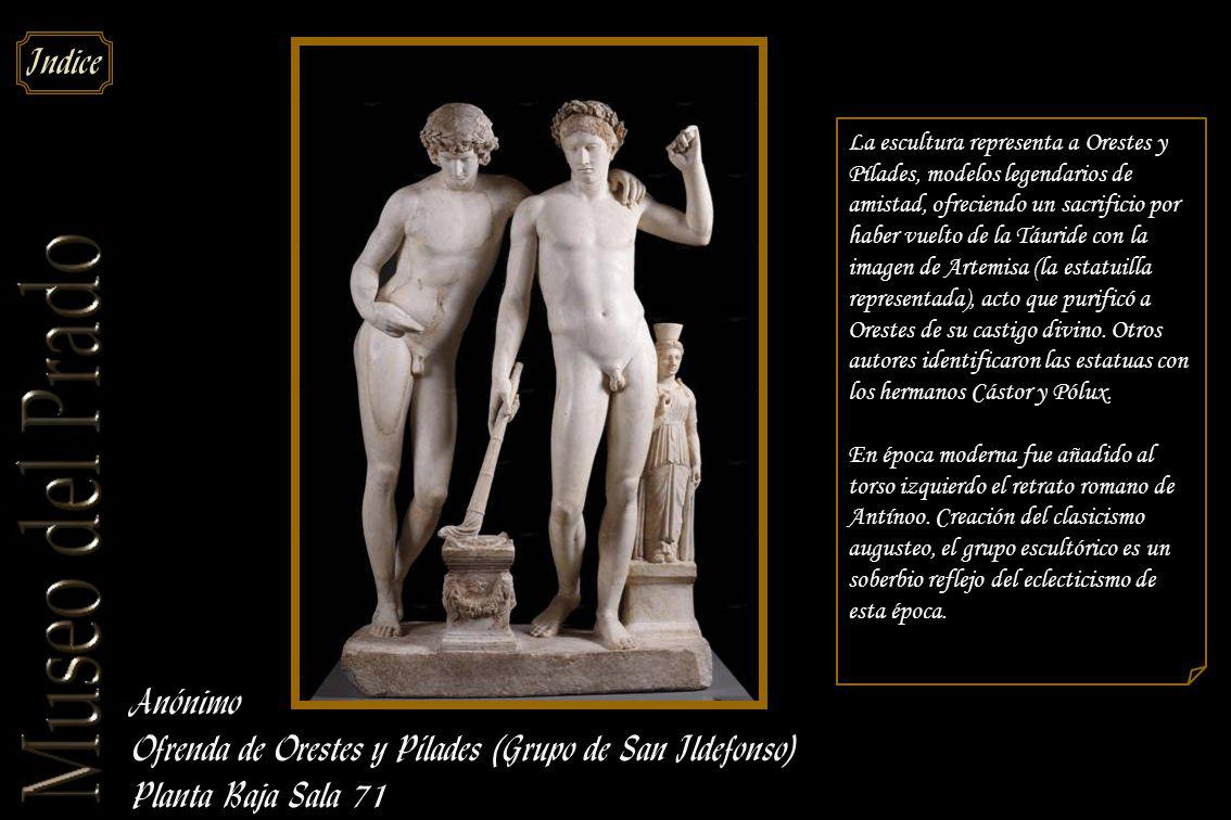Ofrenda de Orestes y Pílades (Grupo de San Ildefonso)