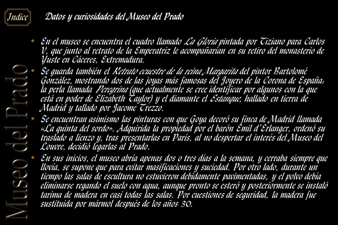 Datos y curiosidades del Museo del Prado