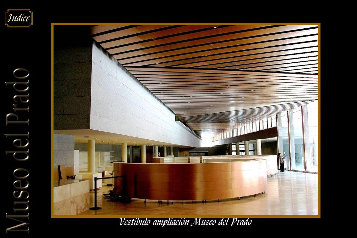 Vestíbulo ampliación Museo del Prado