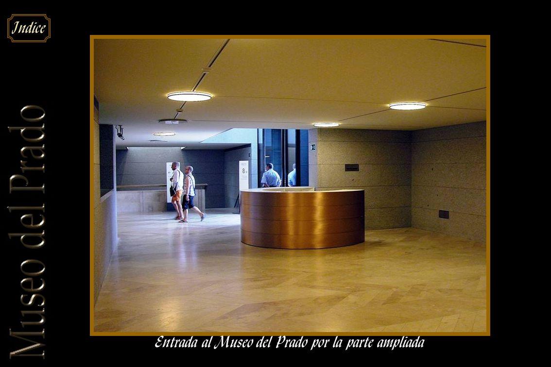 Entrada al Museo del Prado por la parte ampliada