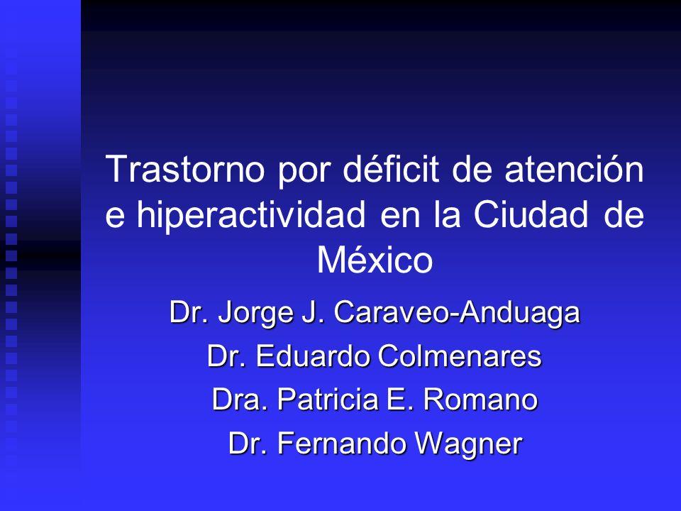 Dr. Jorge J. Caraveo-Anduaga
