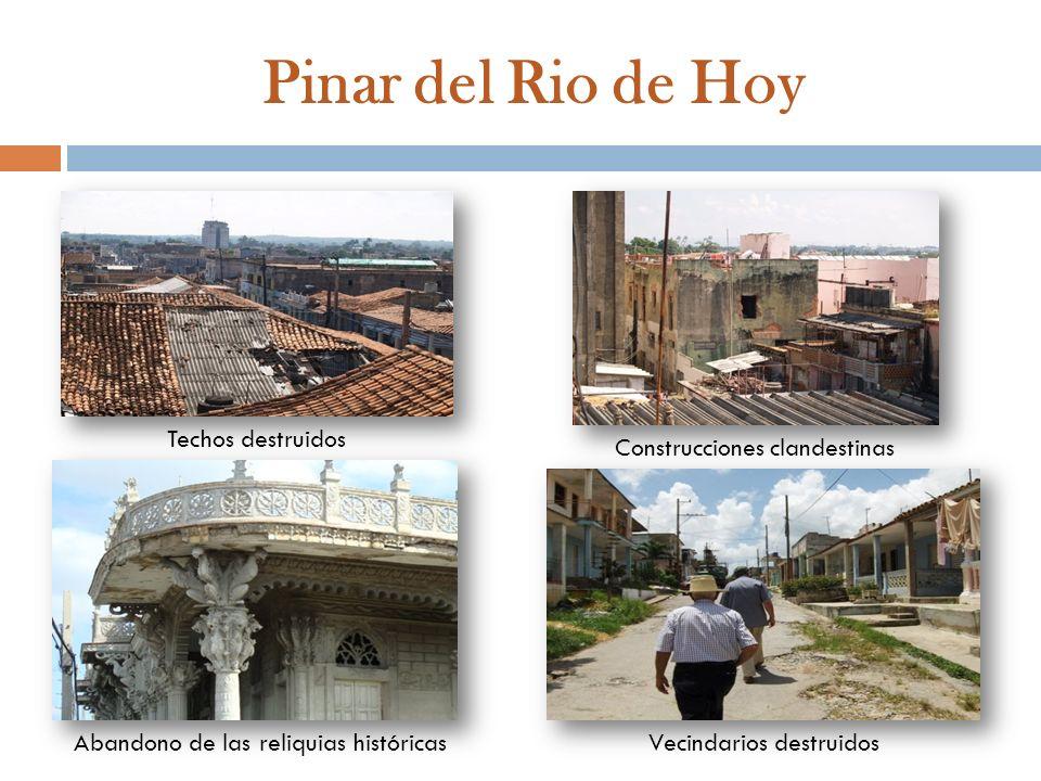 Pinar del Rio de Hoy Techos destruidos Construcciones clandestinas
