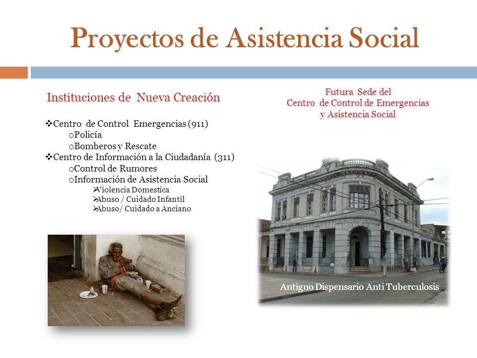 Proyectos de Asistencia Social