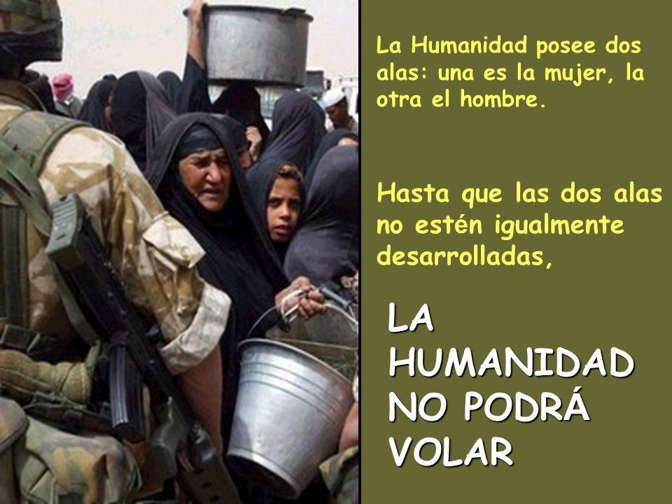 LA HUMANIDAD NO PODRÁ VOLAR