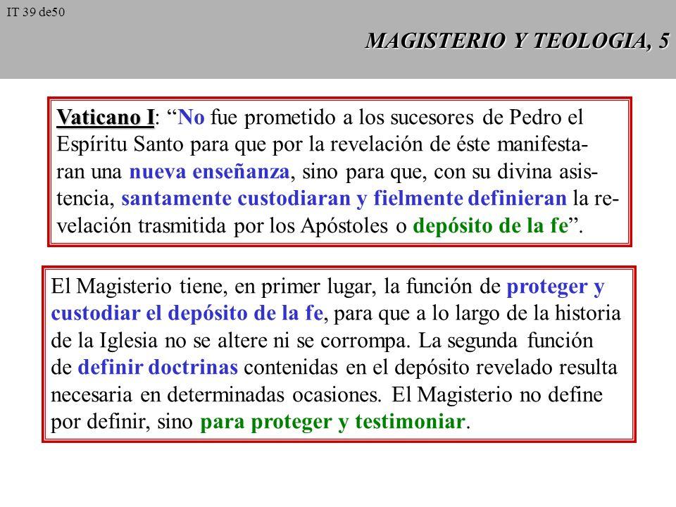 Vaticano I: No fue prometido a los sucesores de Pedro el