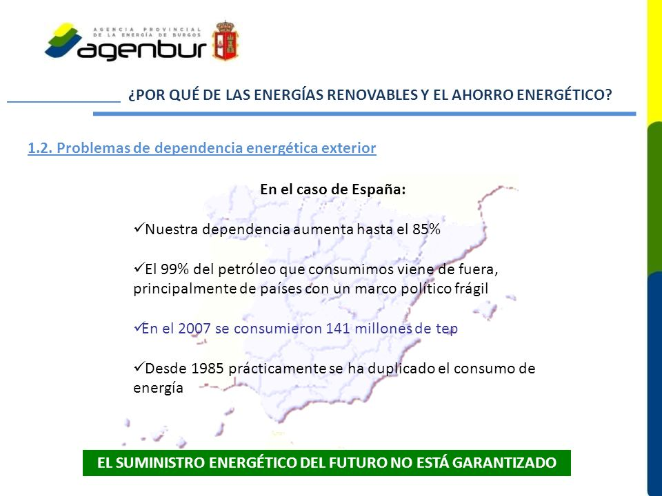 EL SUMINISTRO ENERGÉTICO DEL FUTURO NO ESTÁ GARANTIZADO