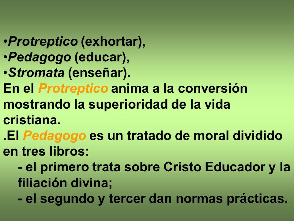Protreptico (exhortar),