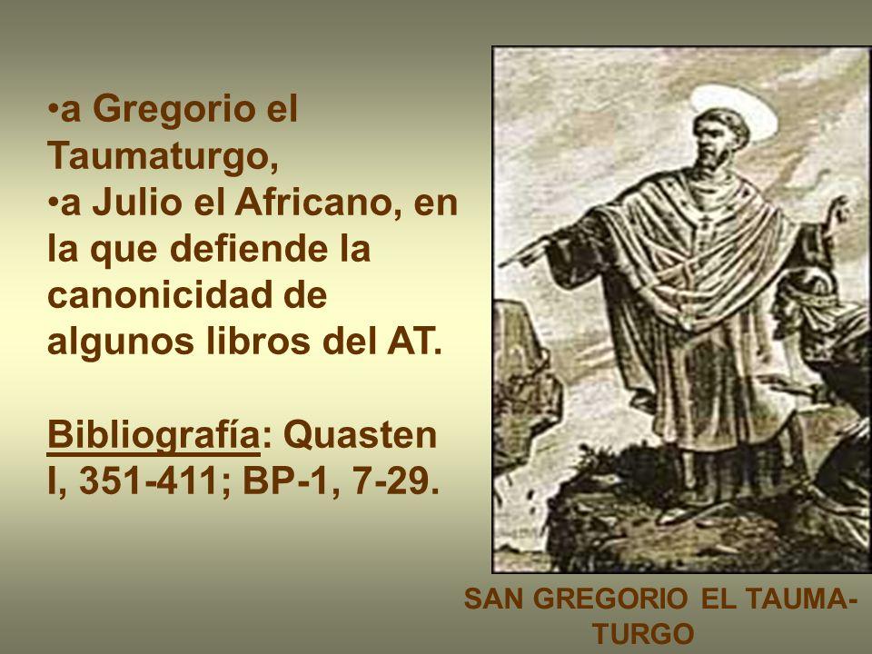 a Gregorio el Taumaturgo,