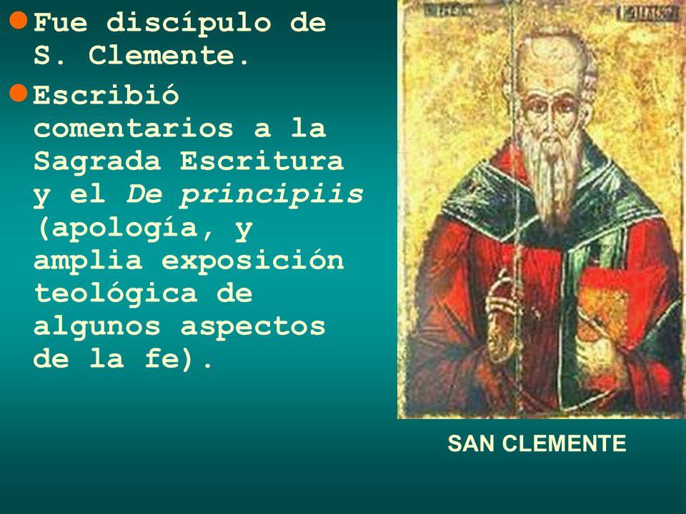 Fue discípulo de S. Clemente.