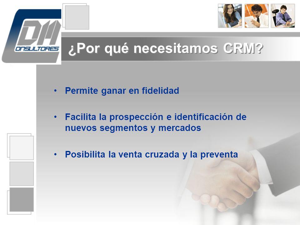 ¿Por qué necesitamos CRM