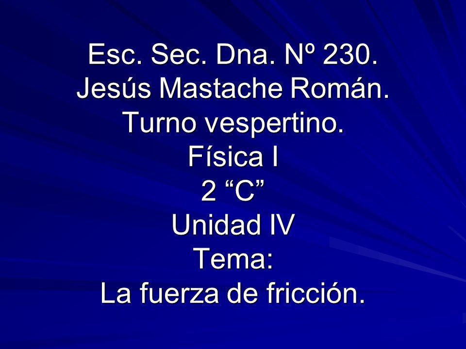 Esc. Sec. Dna. Nº 230. Jesús Mastache Román. Turno vespertino