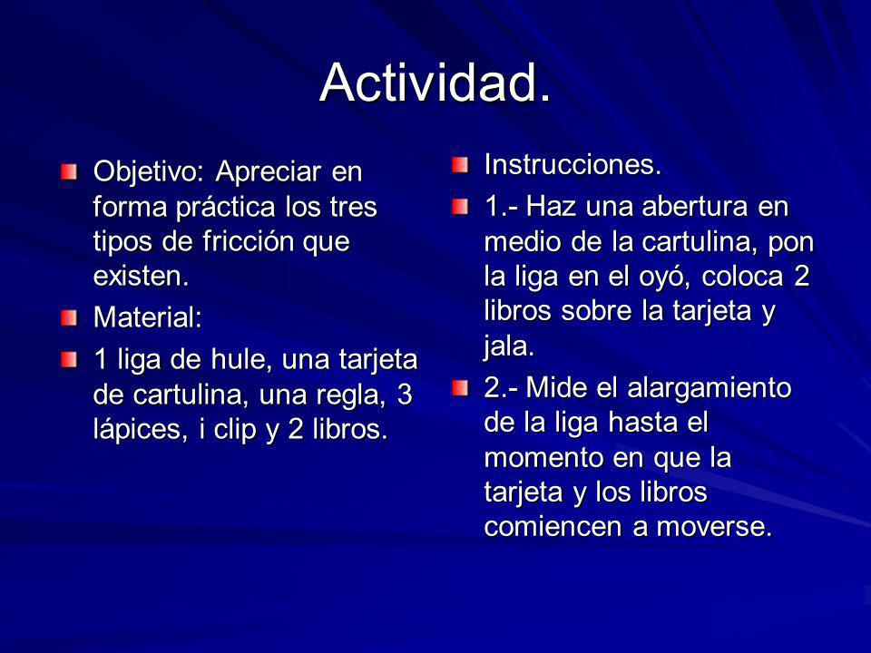 Actividad. Instrucciones.