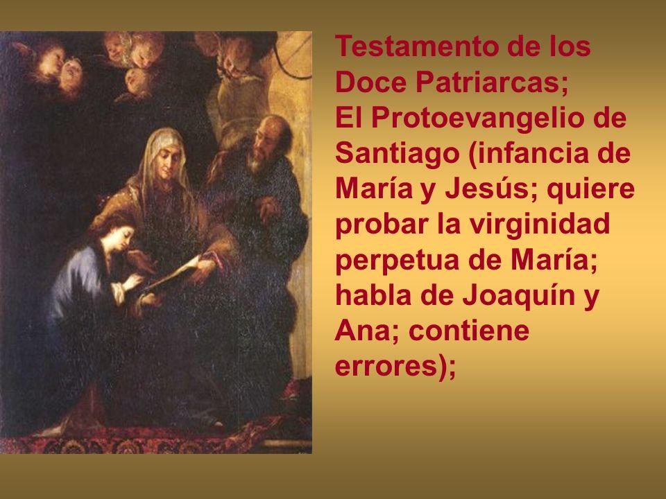 Testamento de los Doce Patriarcas;