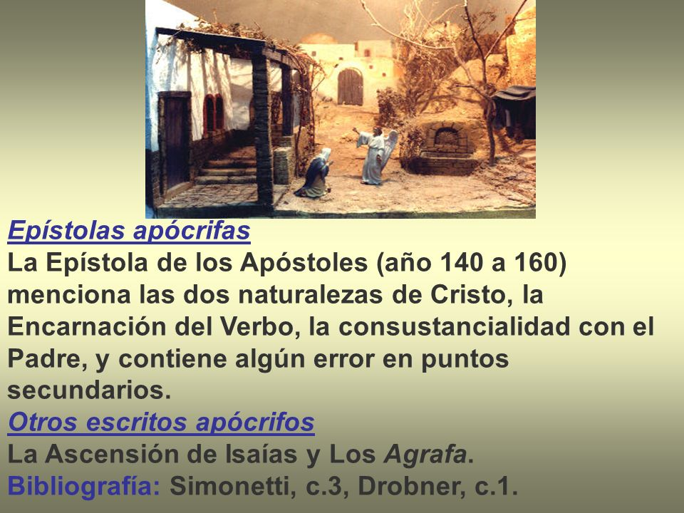 Epístolas apócrifas