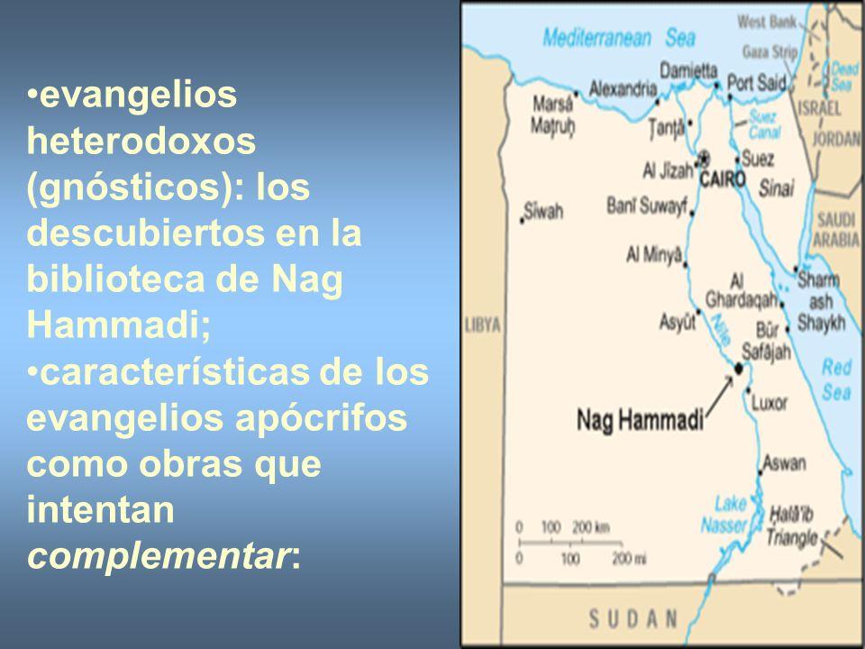 evangelios heterodoxos (gnósticos): los descubiertos en la biblioteca de Nag Hammadi;
